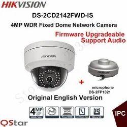 2 MP Hikvision IP Dome Camera, Max. Camera Resolution: 1920 x 1080, Camera Range: 20 to 25 m