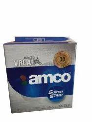 Capacity: 5 Ah Amco Superstart CATZ5LB Two Wheeler Battery