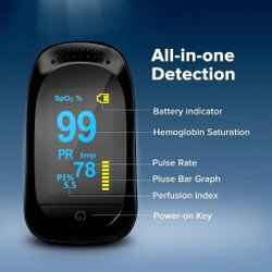 A2 Fingertip Pulse Oximeter