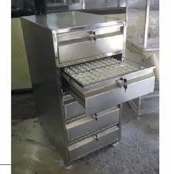 SS Punch & Dies Storage Cabinet