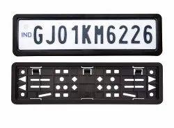 Car Number Plate Frame Set