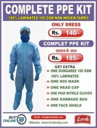COMPLETE PPE KIT 75 GSM DUNGAREE SITRA APPROVED