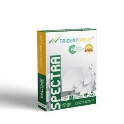 White Trident Spectra -75 Copier Paper, GSM: Less than 80, Size: 5 Cm X 22 Cm X 34 Cm