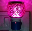Devik Electric Ceramic Kapoor Dani With Night Lamp