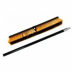 Black Plastic Floor Brush Hard With Handle