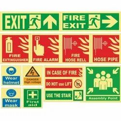 Fire Safety Signage Board