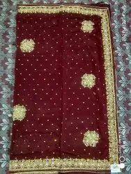Silk Fabric Vichitra, Design No- 433 Vc Saree, Multiple