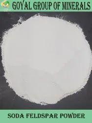Powdered White Feldspar Soda Powder, Grade: Chemical Grade, Packaging Size: 25-50kg