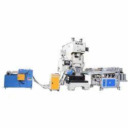 SMBI 2FOL70 Double Cavity Automatic Aluminum Foil Container Making Machine