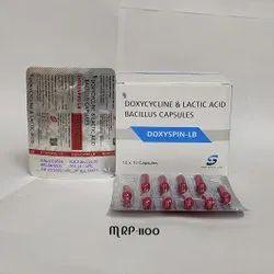 Doxycycline 100mg Lactic Acid Bacillus Capsules