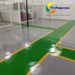 Triflor Solvent Free Epoxy Flooring Floor Paints, Liquid, Packaging Size: Standard