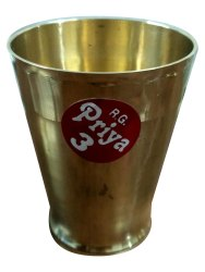 Plain Brass Glass, For Home