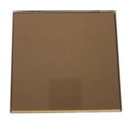 Rectangular Modiguard Bronze Mirror Glass, For Hotel