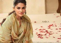 Saheli By Anika Lawn Cotton Summer Wear Fancy Salwar Kameez Wholesale Catalog