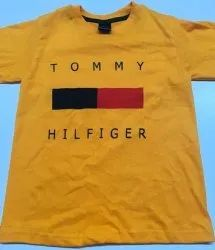 Cotton Casual Wear Kids Printed Tshirt, Size: M (16 X 25inch)