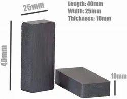 Ferrite Block Magnet 40x25x10mm