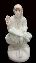 Polyresin Ashirwad Saibaba Statue Sai No. 4