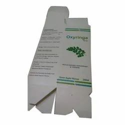 Syrup Packaging Box
