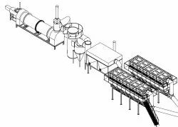 Rotary Kiln Incinerator With Dry Scrubber
