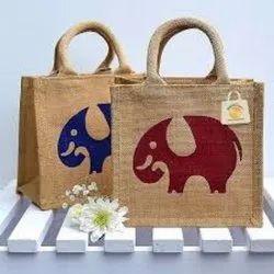 Jute Jewelry Bag