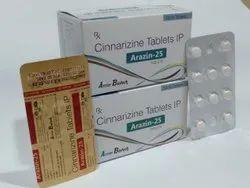 Cinnarizine 25 Mg Tablets.
