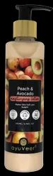 Ayuveer Peach & Avocado Moisturising Lotion, For Moisturiser, Size: 200ml