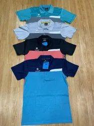 4 colour Men Half Sleeve T- Shirt, Size: M TO XXL