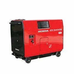 3 kva to 4500 KVA Honda Silent Portable Generators Ex2400s
