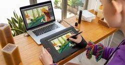 Sleek Fiber XP Pen Digital Writing Pad, Size: 11-24 Inch