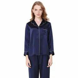 Sleepwear Pure Mulberry Silk Pajama Set For Women