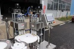 Reagent Test Tube Automatic Filling Capping Machine