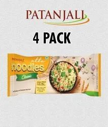 Classic Wheat Flour Patanjali Atta Noodles (4 Pack), Packaging Size: 240gm