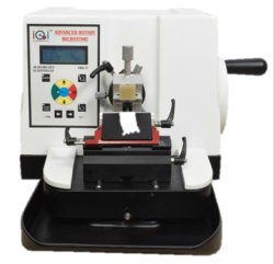 Semi Automated Microtome Leica Type