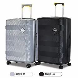 Black, Silver Polycarbonate Bayview Hardsided American Tourister Trolley Bag, For Travelling, Size: 28 X 24 X 20 Cm