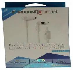 Mobile, Laptop &Tablet White Frontech Multimedia Earphone