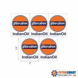 Petrol Pump Self Adhesive Vinyl Logo Stickers (IOCL, BPCL, HPCL, BPCL Pure for Sure)