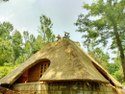 mud house construction resort Siri - Tughlqabad - Shahjahanabad - New Delhi - Delhi