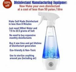 Disinfectant Manufacturing Spray