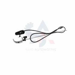 Pilar Antena Personalizada Cromada Para Suzuki Samurai Sj410 Sj413 Sj419 Sierra Santana