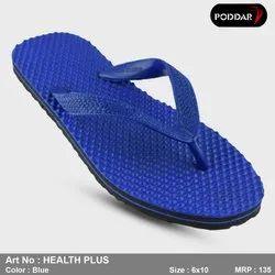 Multicolor Rubber Poddar Hawai Slippers, Size: 6*10