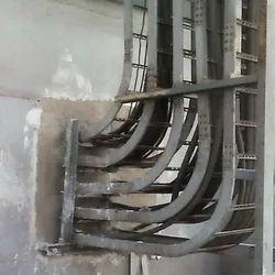 Fire Resistant Mortar Barrier