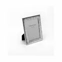 Groovy Design Silver Photo Frame, Color-Silver, Size-5X7