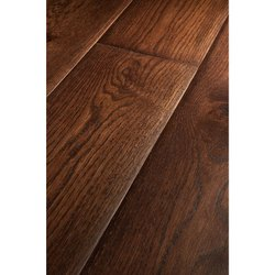 HKS Matte Chocolate Oiled Wooden Flooring, For Indoor, 16 Mm