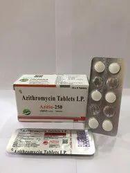 Azitio-250 Azythromycin 250mg Tablet, 6 Tablets