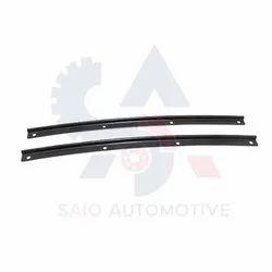 Soft Top Deck Top Black Side Rail Pair For Suzuki Samurai SJ410 SJ413 SJ419 Sierra Santana