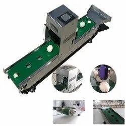 Colored Touch Screen Single-Head Egg Jet Printer Model IJP - EGG-16C