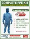 Hospital Dress With Zip 70 GSM Partial Water Proof