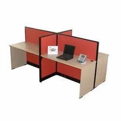 4 Seat Workstation