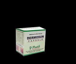Ayurvedic Herbal Capsule For Psorisis - Dermosun Capsule, In Pan India