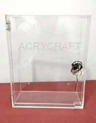 Acrylic Suggestion Box With Lock